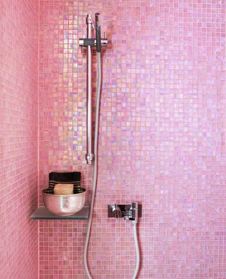 Best 25+ Pink Bathroom Tiles Ideas On Pinterest
