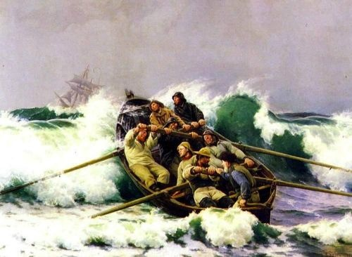 Laurits Tuxen (1853-1927): The Lifeboat