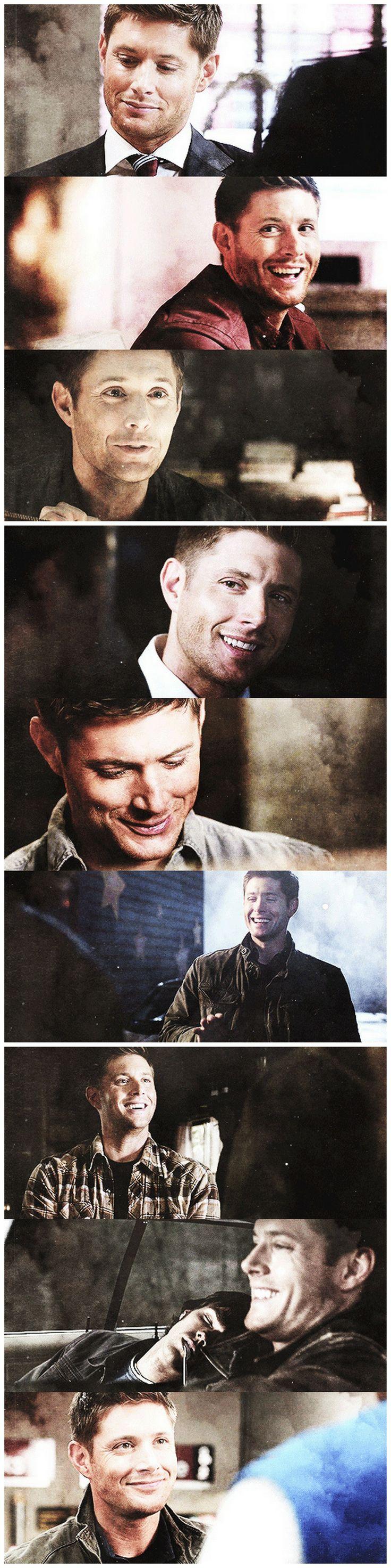 Dean Winchester's smile ♥