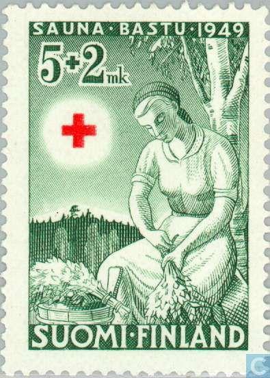 Finland - 500 200 green 1949