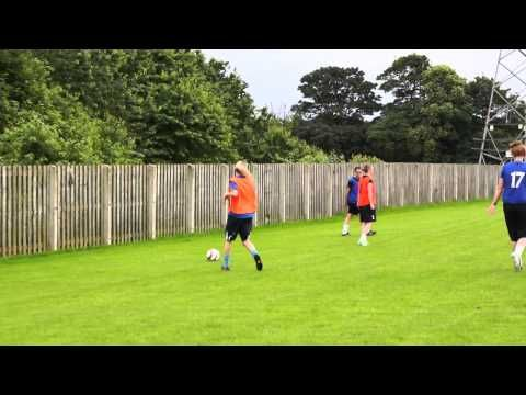 Brighouse Town Ladies Football Club Open Training Session 20062014 - YouTube