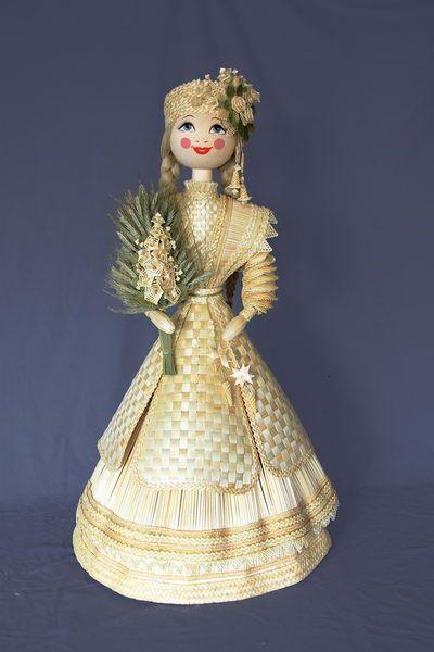 """Кукла """"Беларусь""""   Изделия из соломки   Белорусские сувениры   Славутасть"""