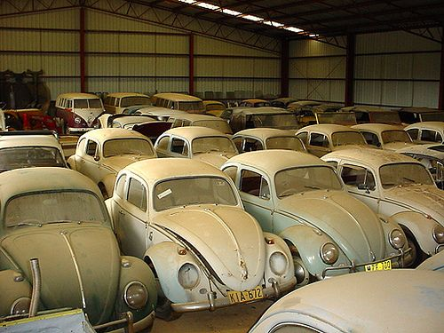 VW s in storage