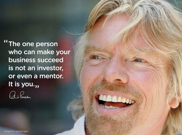 Richard Branson: Be your own champion!