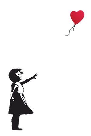 Balloon Girl Banksy #banksy