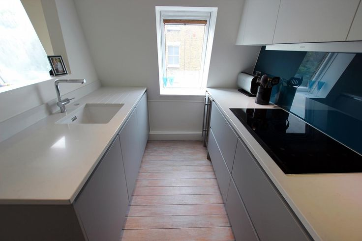Kitchen makeover - Essentially, we now have a galley kitchen layout, which is the most efficient of all kitchen layouts.