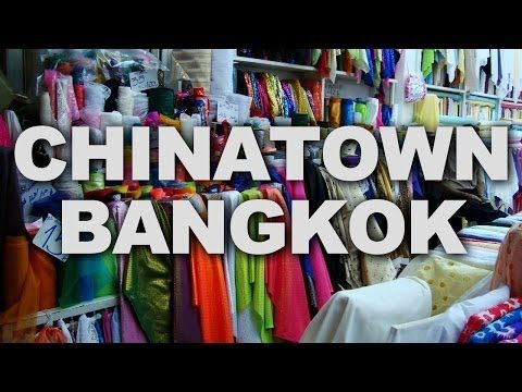 The Chinatown in Bangkok is an old business center covering a large area around Yaowarat and Charoen Krung Road.