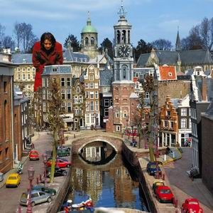 Madurodam is a theme park with miniature versions of the cultural, natural and architectural highlights of Holland. We visited with Zach when he was a child.