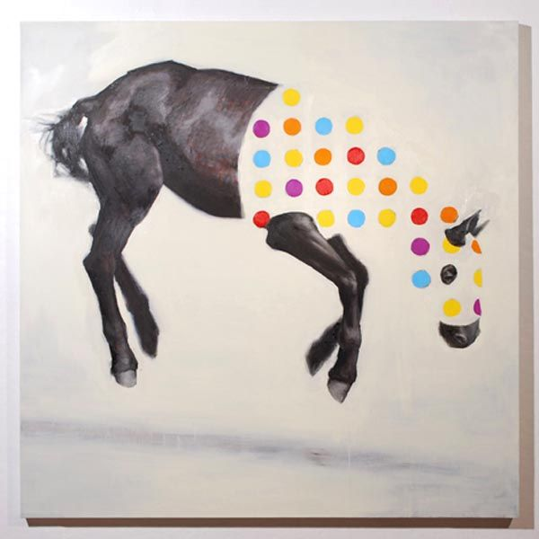 Equine Variation No. 1 - Oil on Canvas /  by Russ Noto (http://www.russnoto.com)