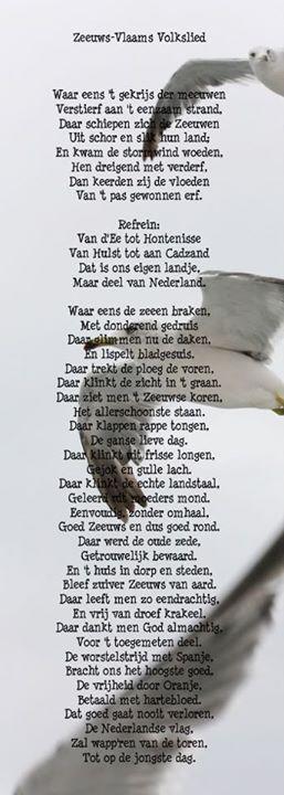 ~ Zeeuws-Vlaams Volkslied