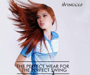 Svingolf adalah merek Indonesia untuk produk pakaian / baju golf dengan kualitas terbaik, paling bergaya dan pakaian golf yang nyaman.  women-apparel-svingolf