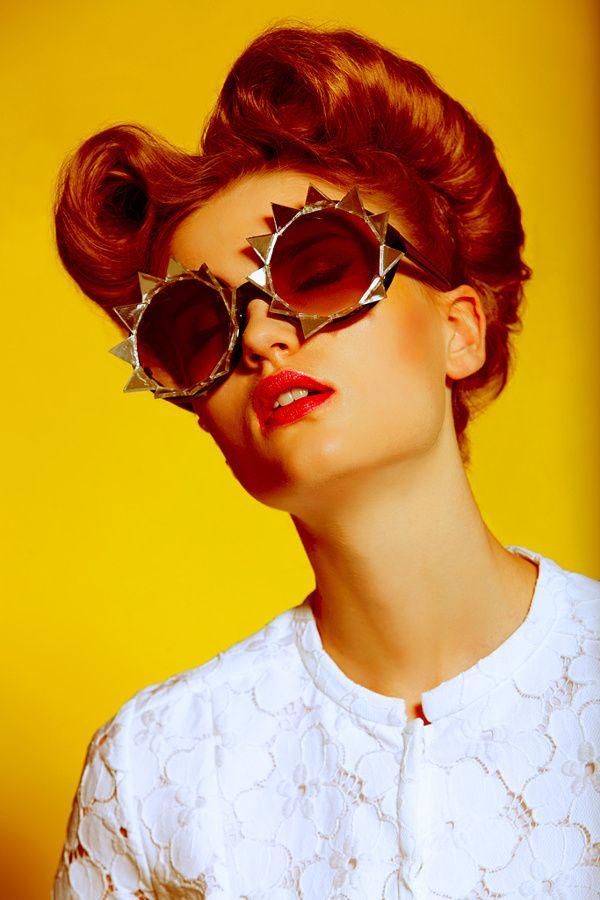20/20 Photographer: TOMAAS www.tomaas.com Stylist: Sneed Make-up Artist: Fiona Thatcher, Make Up For Ever Hair: Seiji Uehara Represented by Ennis, Inc Model: Hannah Kern @Jennifer Milsaps L Trump Models Read Less. Sunglasses | Mercura NYC