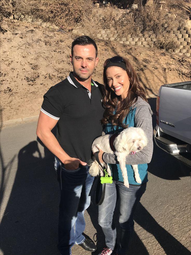 Celebrity Lawyer Peet Viljoen meets Movie star Shannon Elizabeth while donating to the people of Knysna!