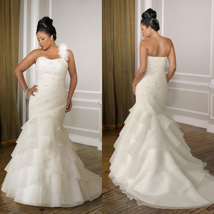 For Curvy Plus Size Bride Wedding