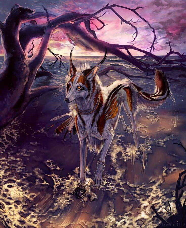 тогда работала мистические животные список с картинками открытие