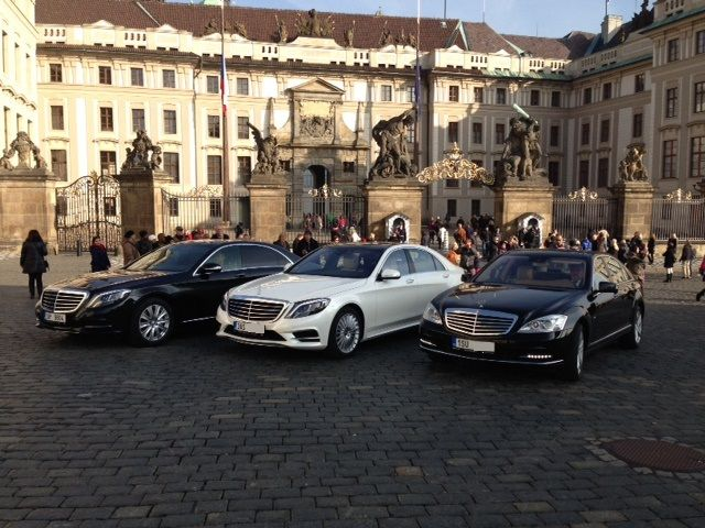 Limousine chauffeured transportation -  Rent a car in Prague
