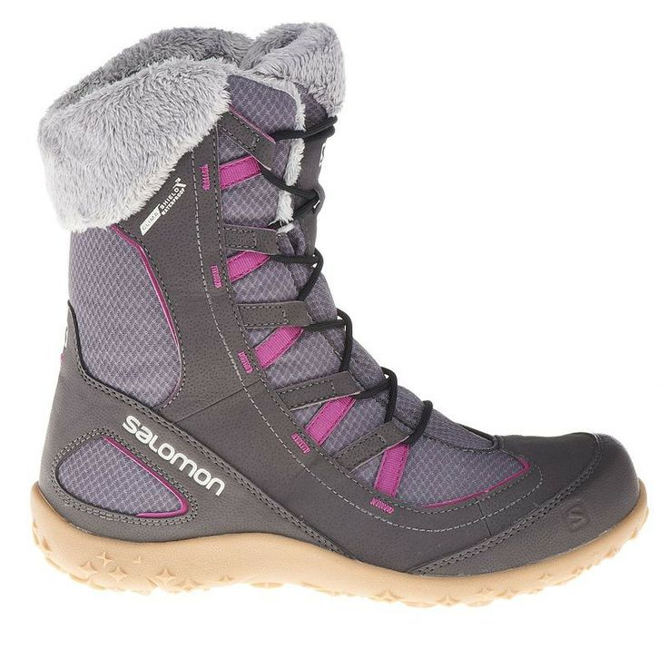 Hiking shoes Shoes - Leone Lady Winter Boots Grey SALOMON - Shoes