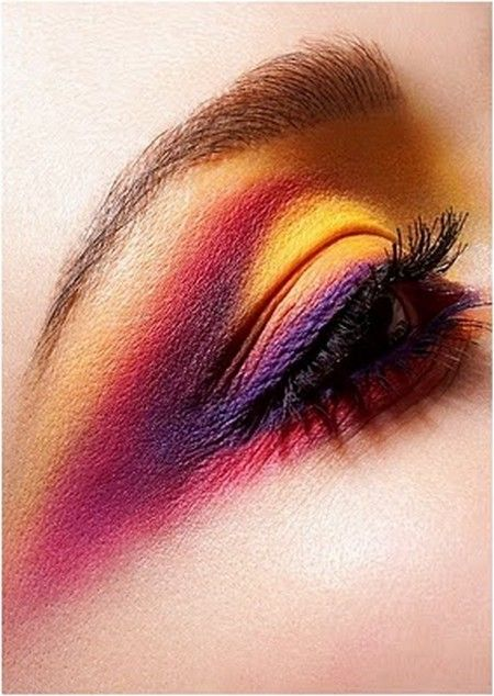 Colorful eyes. #makeup