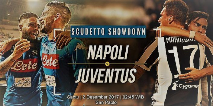 Prediksi Skor Napoli vs Juventus Liga Italia