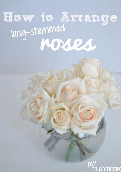 Vase Rose Flower Arrangements Diy Arranging Flowers In A Vase Flower