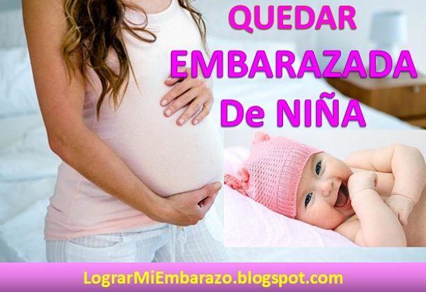 que hacer para tener bebe niña