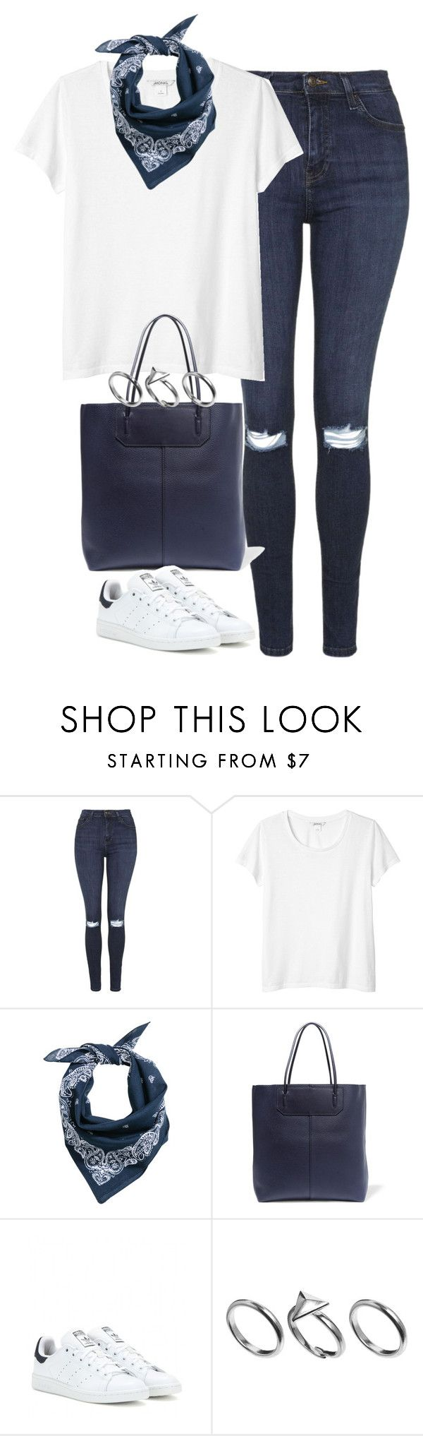 """Untitled #3887"" by keliseblog ❤ liked on Polyvore featuring Topshop, Monki, H&M, Alexander Wang, adidas and Pilgrim"