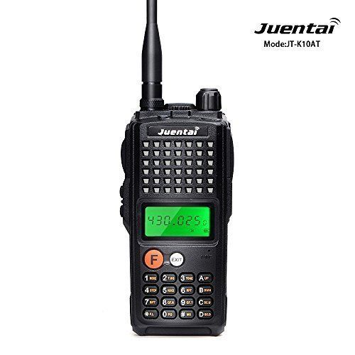 JUENTAI JT-K10AT Ham Two way radio UHF 400-470MHZ Hight Power 10W Amateur Handheld Transceiver Walkie talkie FM Two way radio by Juentai. JUENTAI JT-K10AT Ham Two way radio UHF 400-470MHZ Hight Power 10W Amateur Handheld Transceiver Walkie talkie FM Two way radio.