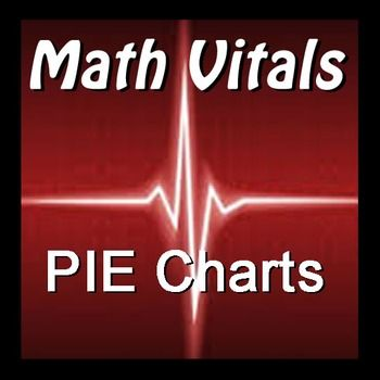Math Vitals - PIE Charts is a set of 16 separate exercises that can be used as a warm-up or exit slip activity or as part of a larger unit on graphing.  The 16 slips are differentiated across four increasingly difficult categories:I  - Reading PIE Charts2 - Filling In PIE Charts3 - Creating PIE Charts4.- Converting To DegreesIncluded in the materials are answer keys for all slips.Would you like to receive updates and information about new products?