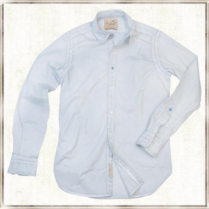 Halibut Shirt - Grey ghost