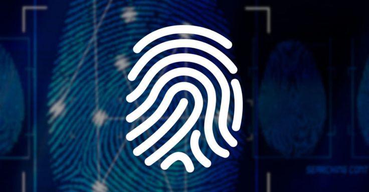 Mais uma patente da Apple que mostra um sensor de digitais sob a tela do iPhone