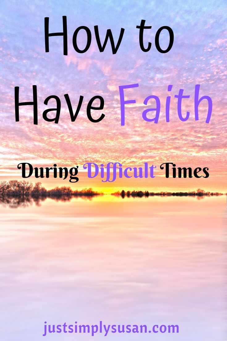 How To Have Faith During Difficult Times | Cynthia | Have