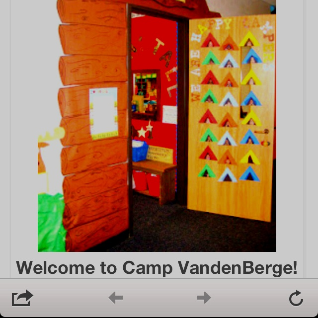 camping decorations children s church pinterest