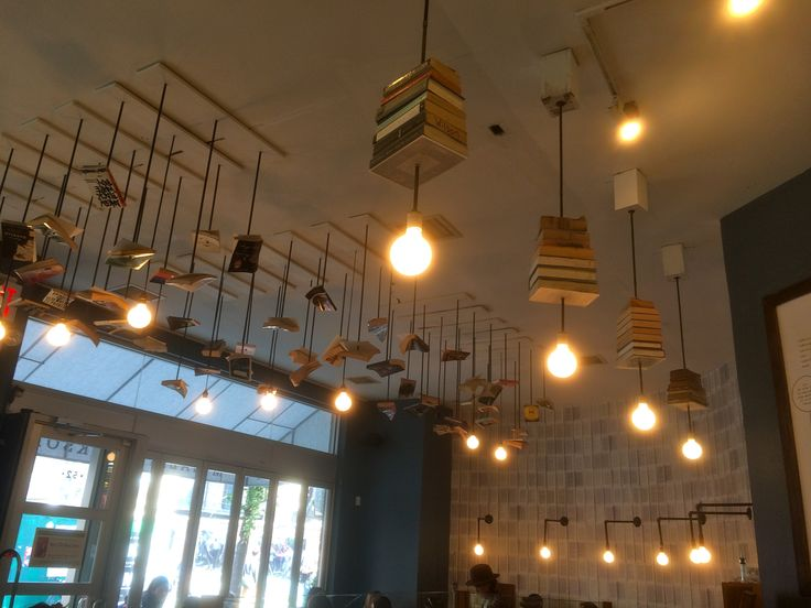 Flying books and bulbs
