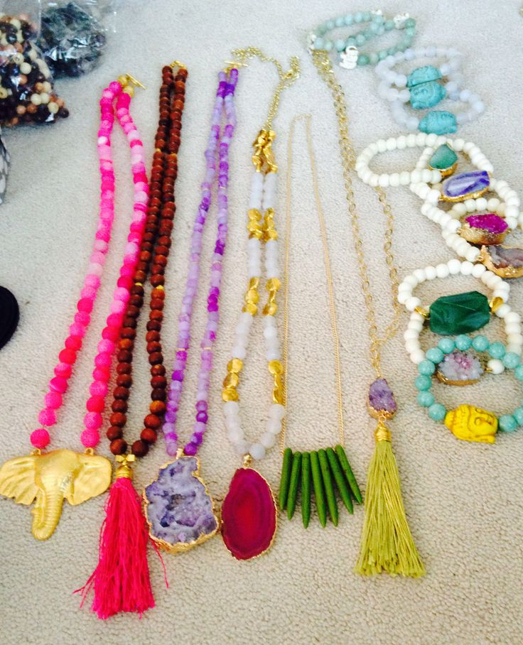 Wonderful jewelry made by Mason Watkins. Have tried to find this style of jewelry forever and nothing compares to her style and quality!