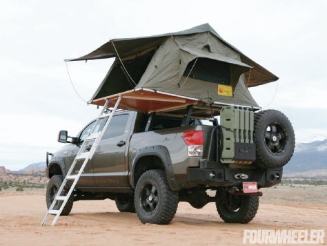 Towering Tundra Eezi Awn Roof Tent - Four Wheeler Magazine