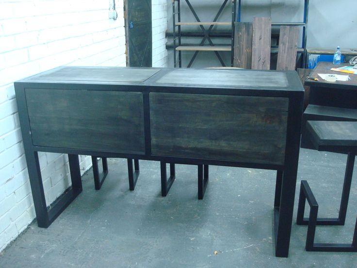 большой стол лофт, стол в стиле лофт, мебель из металла, производитель мебели лофт, индустриальный стиль