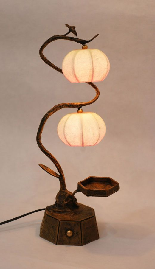 #Korea #Antique #Interior #Design #Decor #PaperLantern #Stand #Lamp - #Spring Haze 2 #DURICRAFT