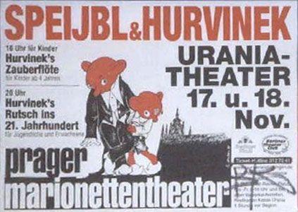 Výsledek obrázku pro divadelní plakát uranie