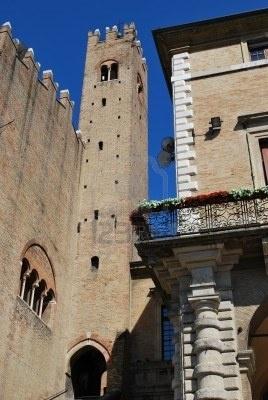 Piazza Cavour e Palazzo Ducale, Rimini, Italy
