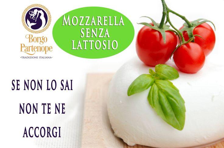 #intolleranze? Provate la nostra #mozzarella senza #lattosio! ordinala su www.elitfood.it Borgo Partenope Tradizione Italiana #lasirenasullatuatavola