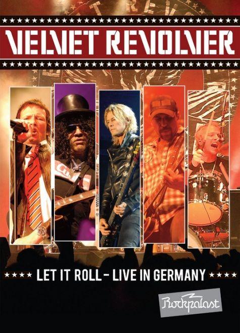 ROCKEROS: DVD - LET IT ROLL - LIVE IN GERMANY (2013) de Velv...