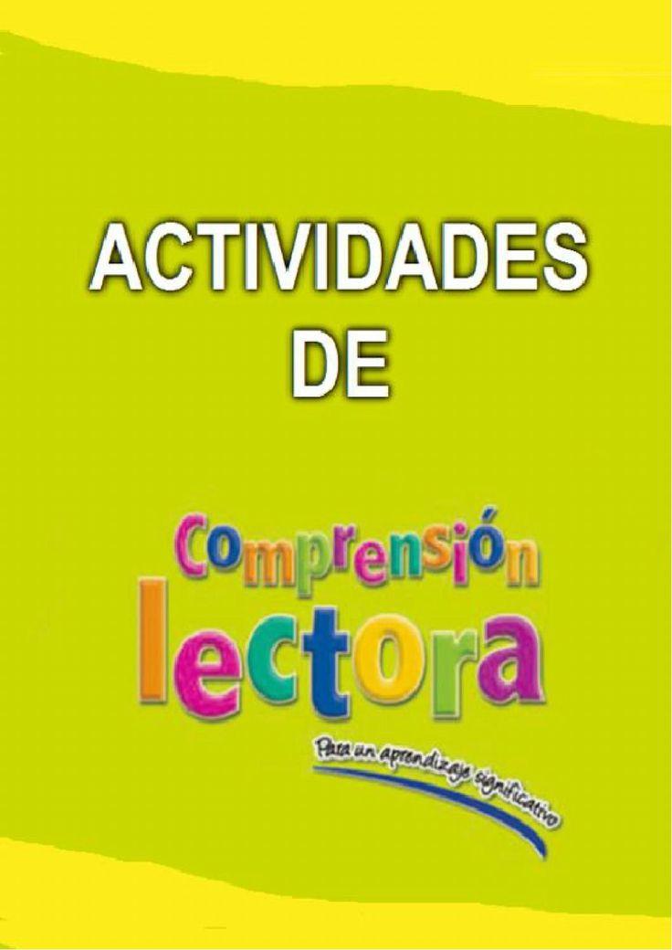 Comprensión lectora 2º santillana  Comprensión lectora de Segundo de Primaria. Ed Santillana