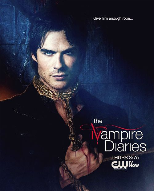 ian somerhalder - damon in the vampire diaries