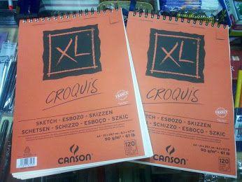Promo #backtoschool CANSON scketchbook XL 120fg da 90gr in OFFERTA € 9.00  #sketchbook #offers #art