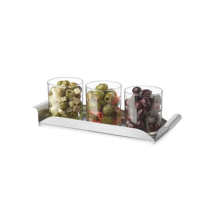 Libbey Modern Bar 4-pc. Condiment Set, Multicolor