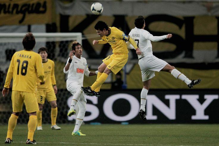 Hidekazu Otani - Kashiwa Reysol v Santos - FIFA Club World Cup Semi Final