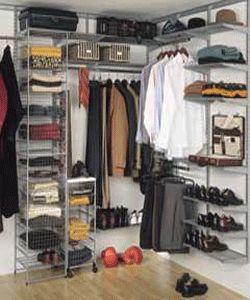Closet Storage Organization for Home Staging