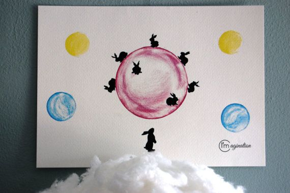Moon trip di Imimagination su Etsy