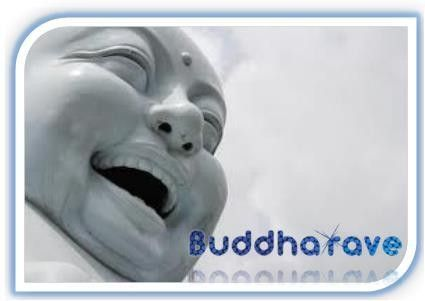 Laugh with Buddha vibes.