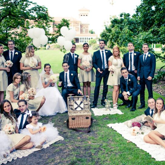 Vintage picnic styled for a recent wedding at Ripponlea with @youremelbournestyle and shot by @sandalah_thephotolady